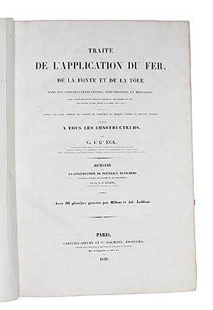 Application Générale du Fer, de la Fonte,: ECK, CH.L.G.
