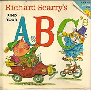 Richard Scarry's Find Your ABC's: Scarry, Richard