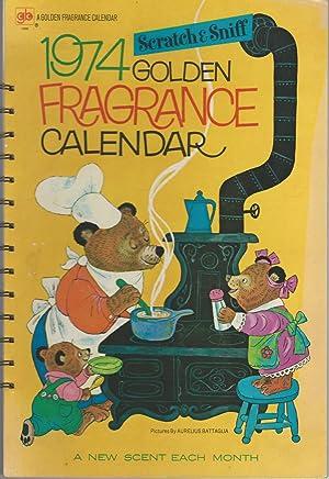 1974 Golden Fragrance Calendar (Scratch & Sniff): Golden Book