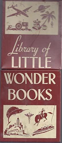 Library of Little Wonder Books: Various Authors