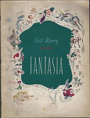 Walt Disney Presents Fantasia: Walt Disney Productions;