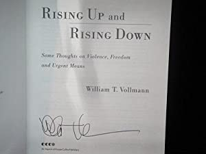 Rising Up and Rising Down: Vollmann, William T.