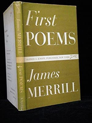 First Poems: Merrill, James