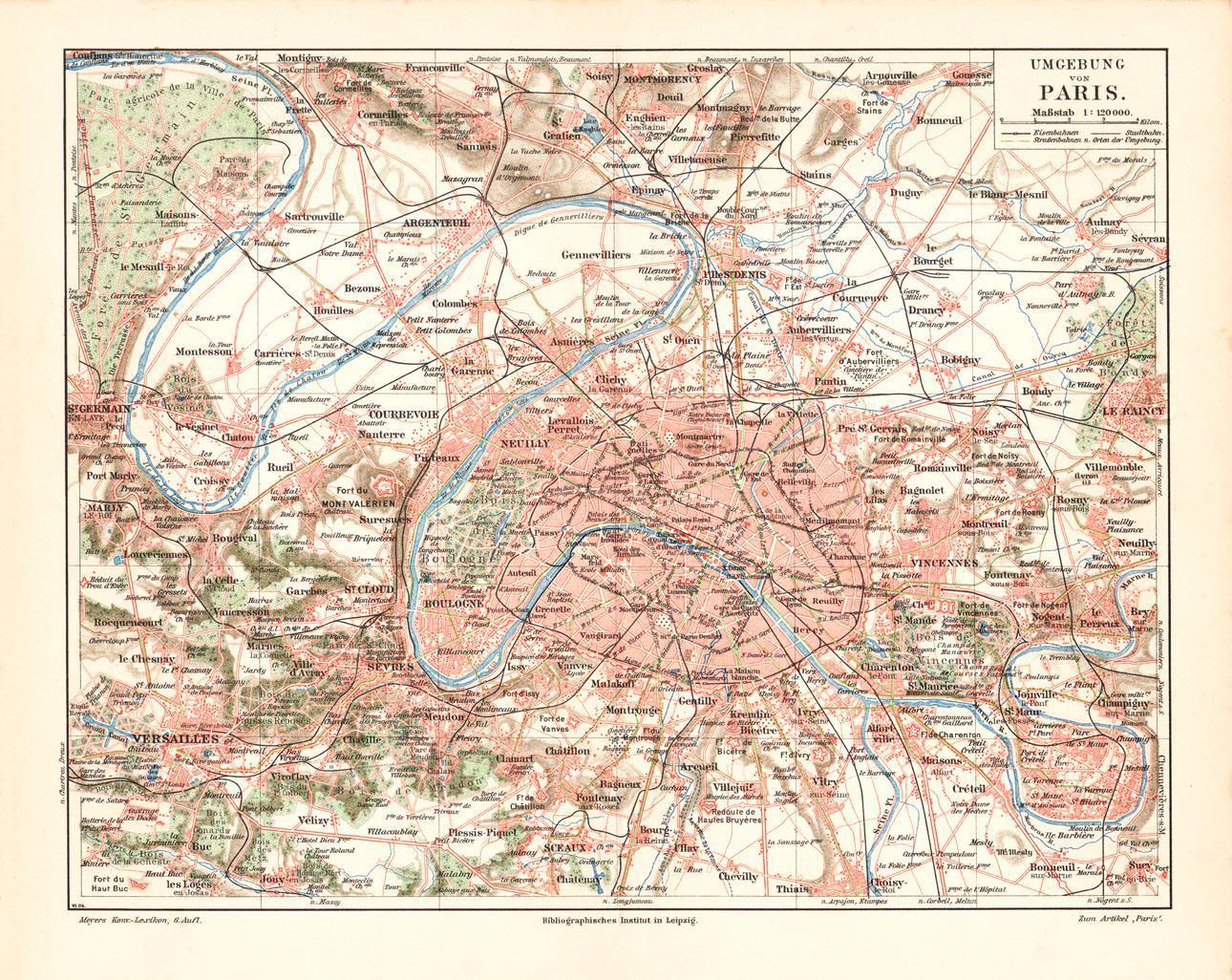 Karte Paris Stadtplan.Paris Stadtplan Karten Zvab