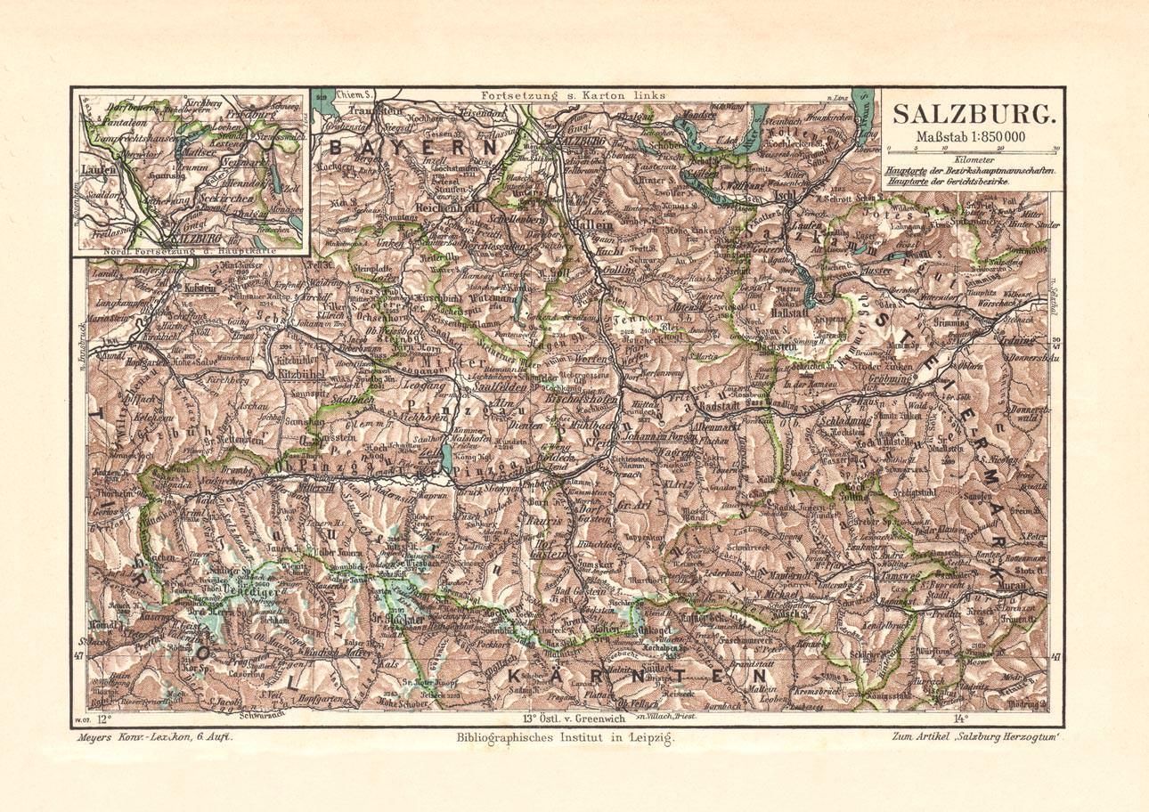 historische karte - ZVAB on