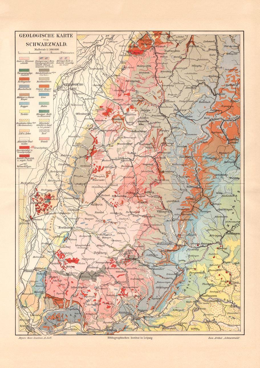 Nordschwarzwald Karte.Schwarzwald Karte Karte Karten Zvab