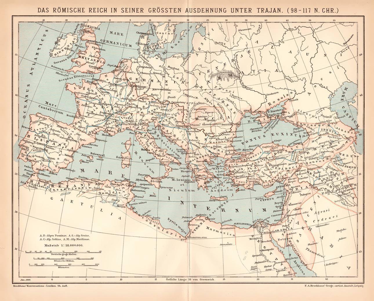 Heiliges Römisches Reich Karte.Römisches Reich Karte Zvab