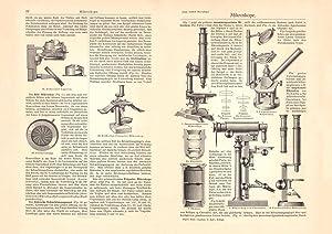 Alter historischer Druck Heliometer Holzstich 1905