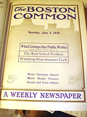 The Boston Common [Weekly newspaper, bound in 2 volumes]: Livy S. Richard (ed)