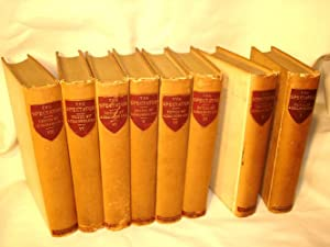 The Spectator, with a Historical and Biographical Preface (Nos 1 - 635), 8 vol. set: Joseph Addison...