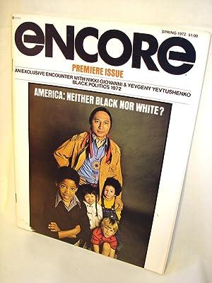 Encore, Spring 1972 (Vol 1, No 1): Ida Lewis (ed)