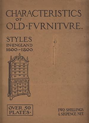 Style Schemes in Antique Furnishing - Interiors and Their Treatment - Over 100 Designs: Shapland H....