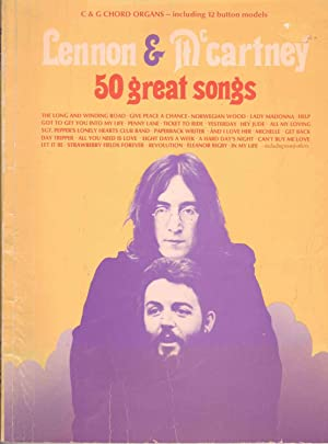Lennon & McCartney 50 Great Songs - c & G Chord Organs - Including Button Models
