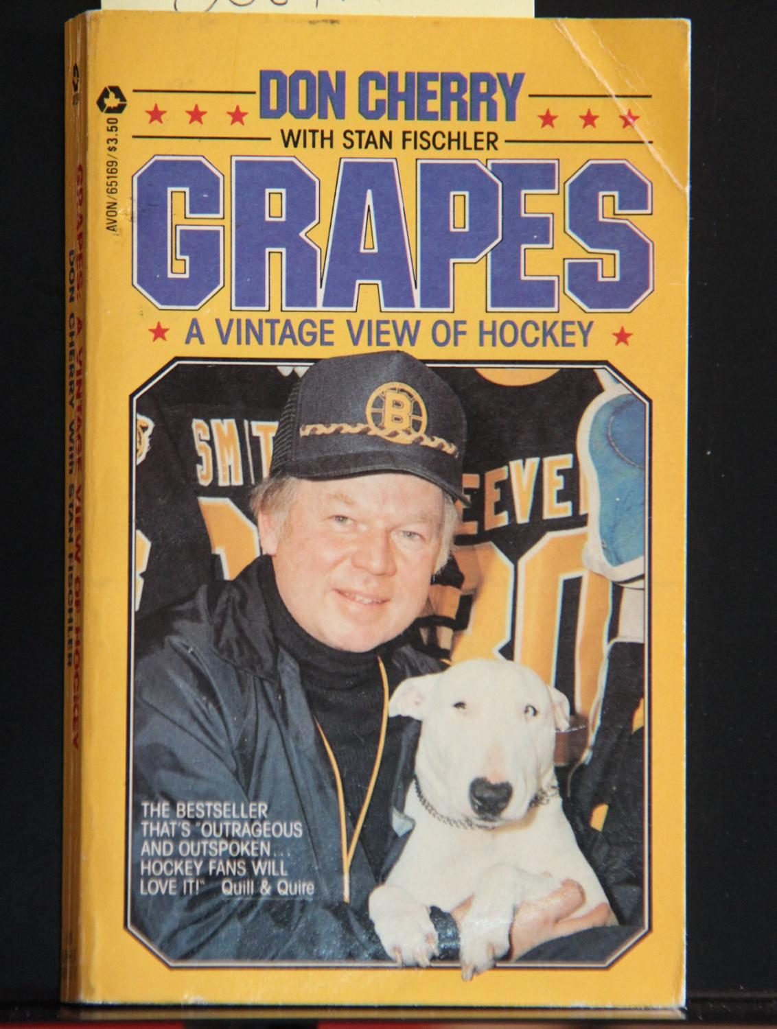 Grapes A Vintage View Of Hockey Cherry Don Fischler Stan