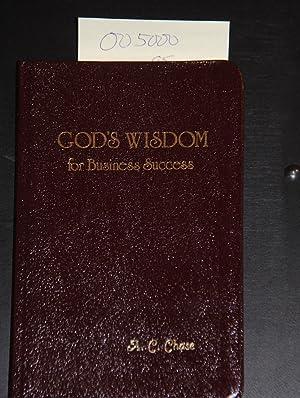 God's Wisdom for Business Success: J.Countryman Publishers