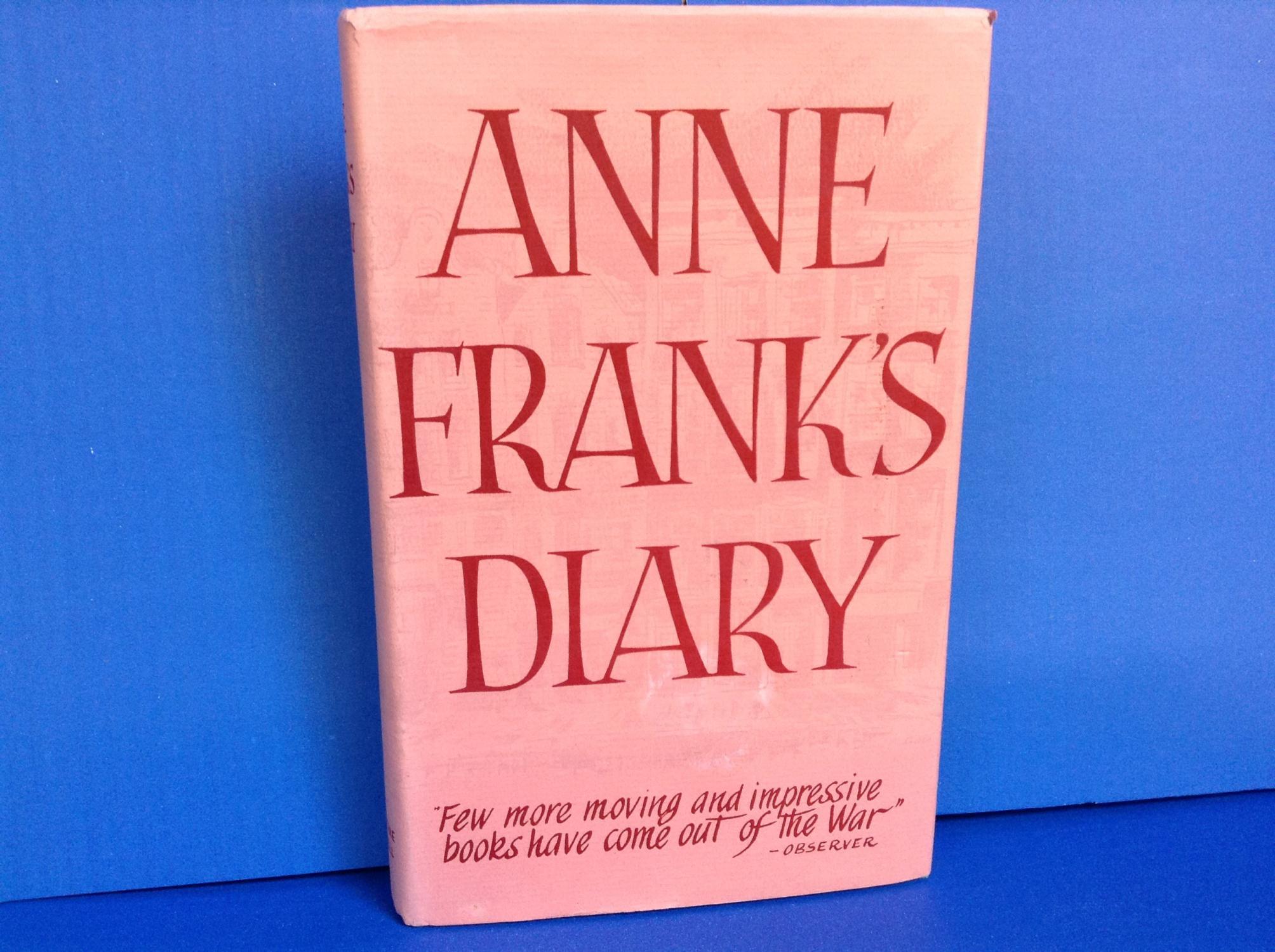Anne Frank's Diary Frank, Anne