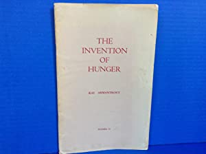 The Invention of Hunger: Armantrout, Rae