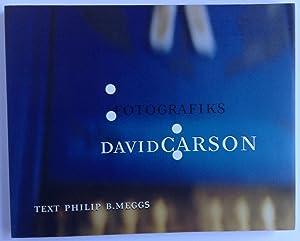 Fotografiks - David Carson: Meggs, Philip B.;