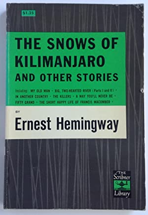 reviewing the snows of kilimanjaro films english literature essay The writers craft in jane eyre - gcse english/ english literature infectious death through lack of living in the snows of kilimanjaro by film review ] 1072.