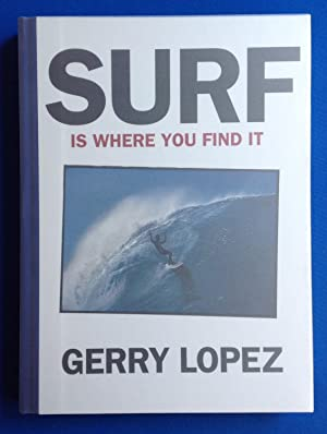 Surf Is Where You Find It with SIGNED Patagonia Post Card: Gerry Lopez