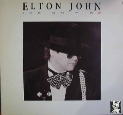 Antiguo vinilo - Old Vinyl .- ELTON JOHN; ICE ON FIRE.