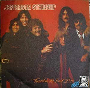 Antiguo Single Vinilo - Old Single Vinyl.- JEFFERSON STARSHIP: JANE & FREEDON AT POINT ZERO.