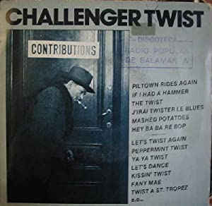 Antiguo Single Vinilo - Old Single Vinyl.- CHALLENGER TWIST.