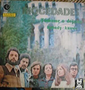 Antiguo vinilo - Old Vinyl .- MOCEDADES:TÓMAME O DÉJAME.NOBODY KNOWS.
