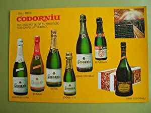 Antigua Postal Publicidad - Old Advertising Postcard : CODORNIU
