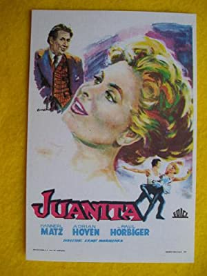 Folleto de mano cine - Cinema hand brochure : JUANITA.