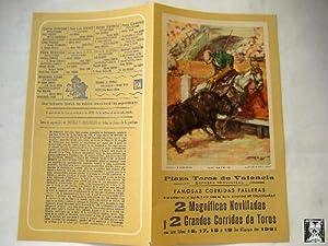 Programa - Program : CORRIDAS FALLERAS 1961.: REUS (Ilustrador)