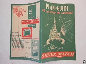 Folleto Publicidad - Advertising Brochure : PLAN ET GUIDE DE LA VILLE DE LOURDES.
