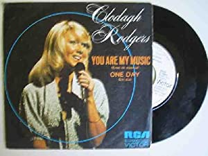 Disco Vinilo - Old vinyl .- CLODAGH RODGERS : You Are My Music; One Day