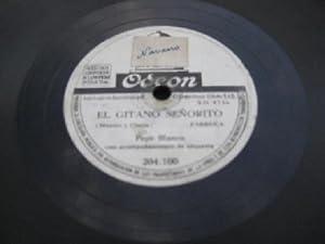 Antiguo Disco Pizarra - Old Disc Slate: Sin autor