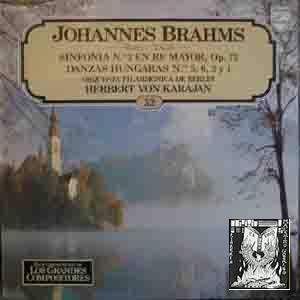 Disco Vinilo - Old vinyl .- Johannes: Sin autor