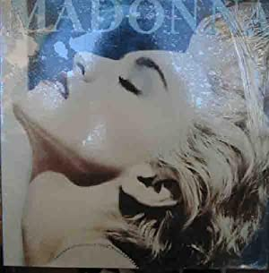 Antiguo vinilo - Old Vinyl .-MADONNA : True Blue