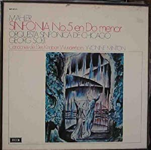 Antiguo vinilo - Old Vinyl .-MAHLER : Sinfonia nº5 en Do Menor. Orquesta Sinfonica de Chicago. Di...