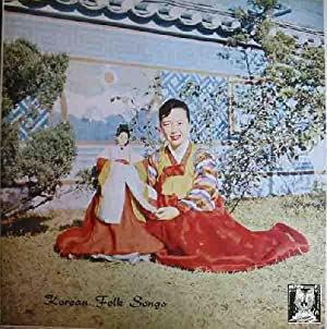 Antiguo vinilo - Old Vinyl .-KOREAN FOLK: Sin autor