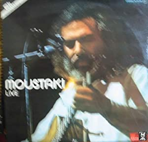 Antiguo Vinilo - Old Vinyl : GEORGES MOUSTAKI : LIVE