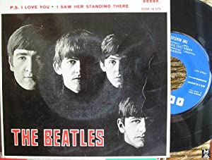 Antiguo Single Vinilo - Old Single Vinyl: THE BEATLES : Misery; Anna (Go to him); P.S.I love you;...