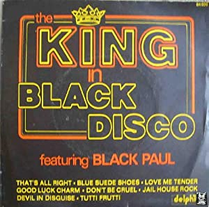 Antiguo Vinilo - Old Vinyl : THE KING IN BLACK DISCO