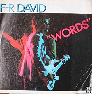 Antiguo Vinilo - Old Vinyl : F - R DAVID : Words; When the sun goes down
