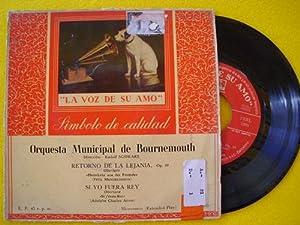 Antiguo Vinilo - Old Vinyl : MENDELSSHON: Sin autor