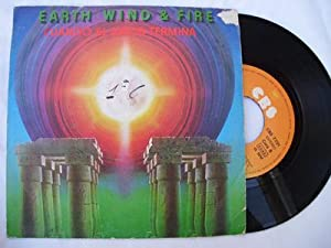 Disco Vinilo - Vinyl Disc : EARTH, WIND & FIRE : After the love has gone; Rock Thati
