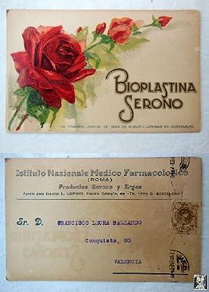 Antigua Postal Publicidad - Old Advertising Postcard: Sin autor