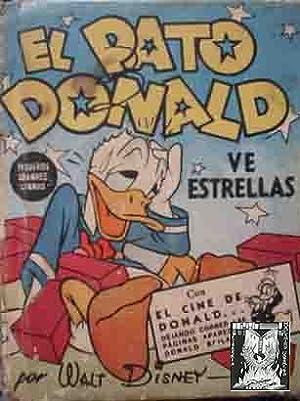EL PATO DONALD VE ESTRELLAS por Walt: Sin autor