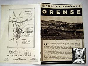 Folleto Turismo - Tourist Brochure : ORENSE