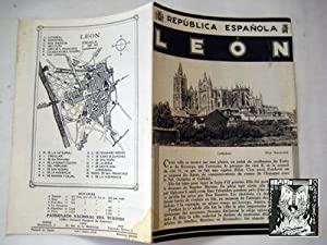 Folleto Turismo - Tourist Brochure : LEÓN