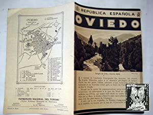 Folleto Turismo - Tourist Brochure : OVIEDO