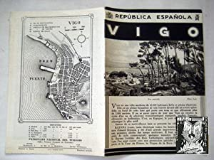 Folleto Turismo - Tourist Brochure : VIGO